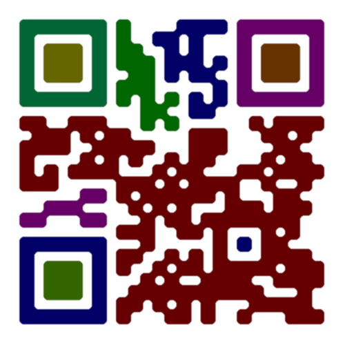 how to download contact information from qr code